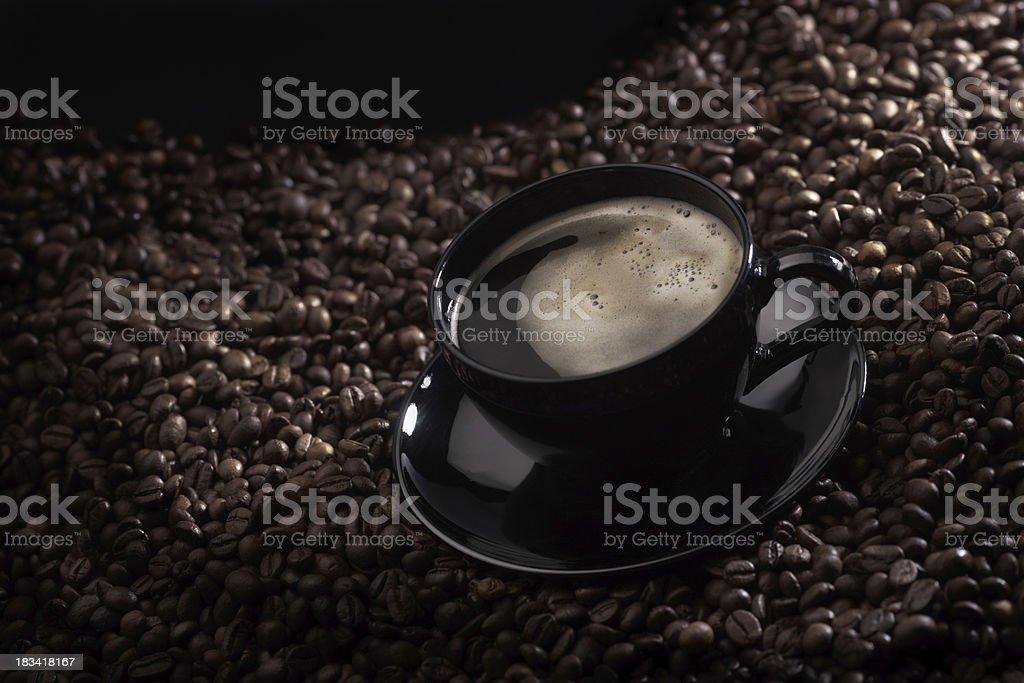 dark caffè ls foto stock royalty-free