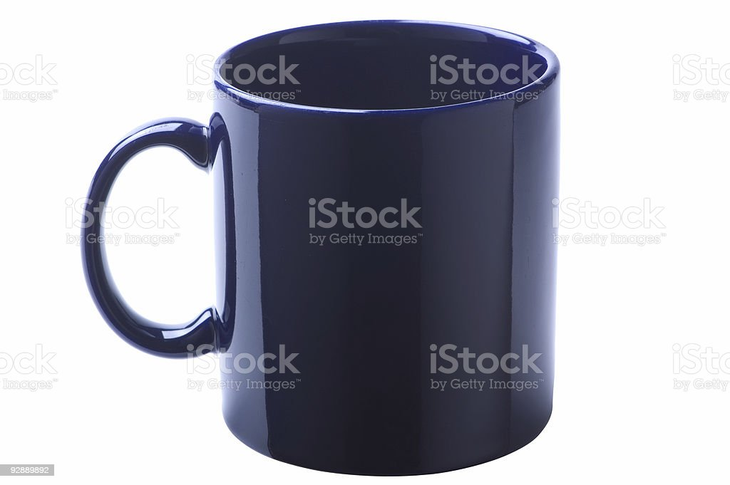 Dark Coffee Mug royalty-free stock photo