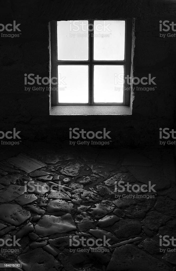 Dark Corridor royalty-free stock photo