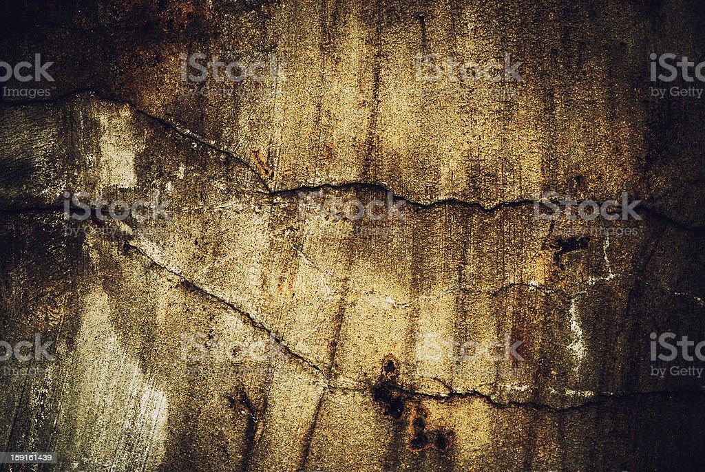 dark cracked wall royalty-free stock photo