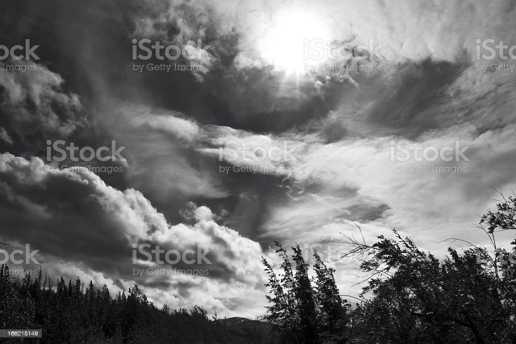 Dark Days royalty-free stock photo