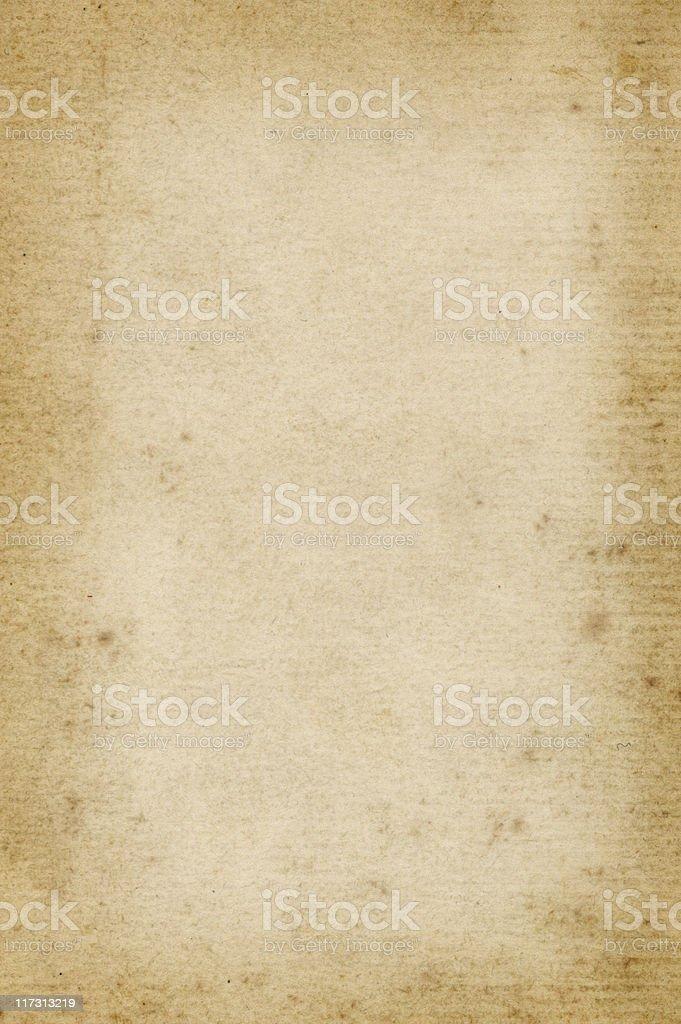 Dark edged old paper stock photo