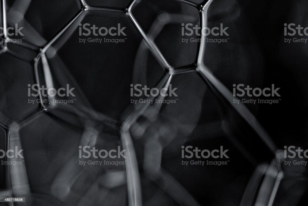 Dark energy black and white concept image stock photo