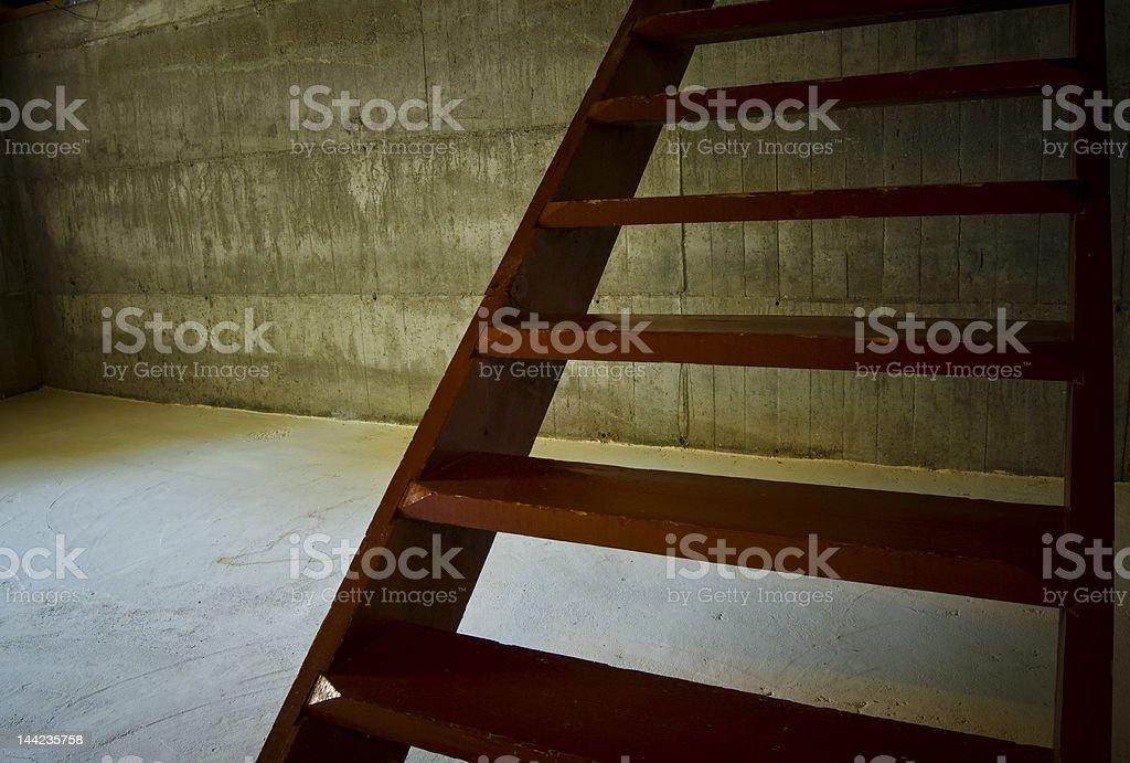 Dark escape option royalty-free stock photo