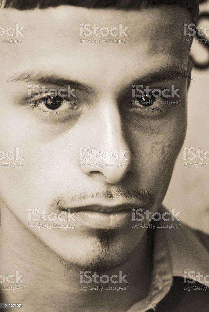 dark eyes stock photo