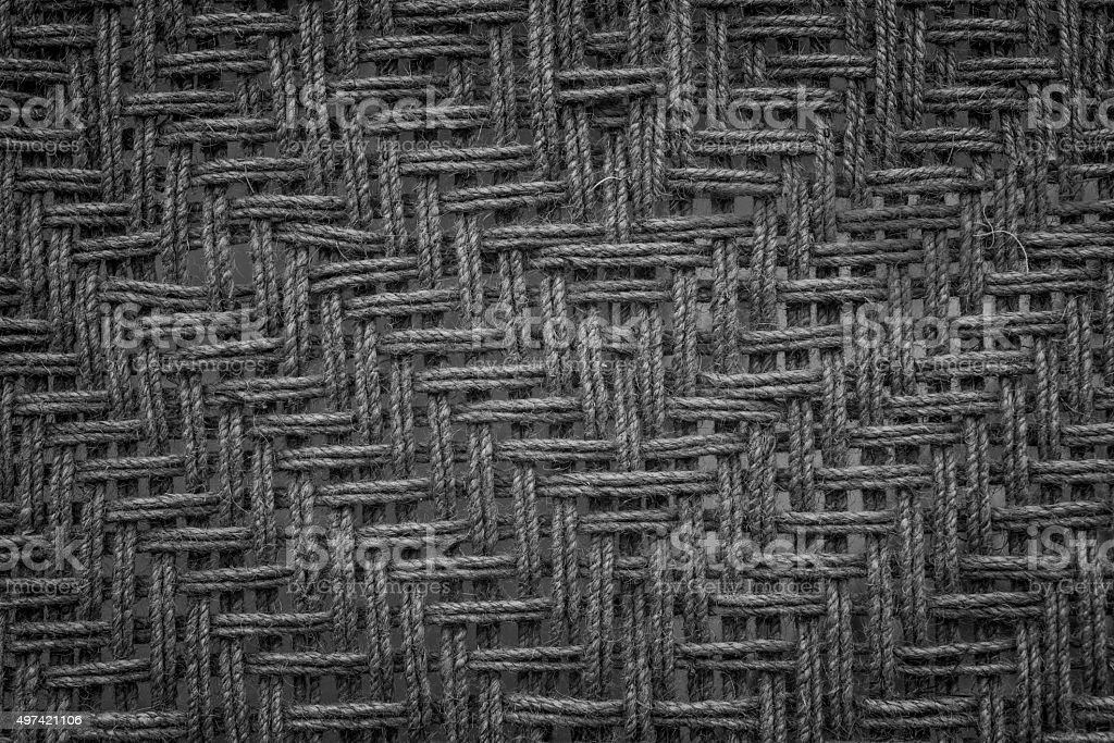 Dark fabric texture. Clothes background stock photo