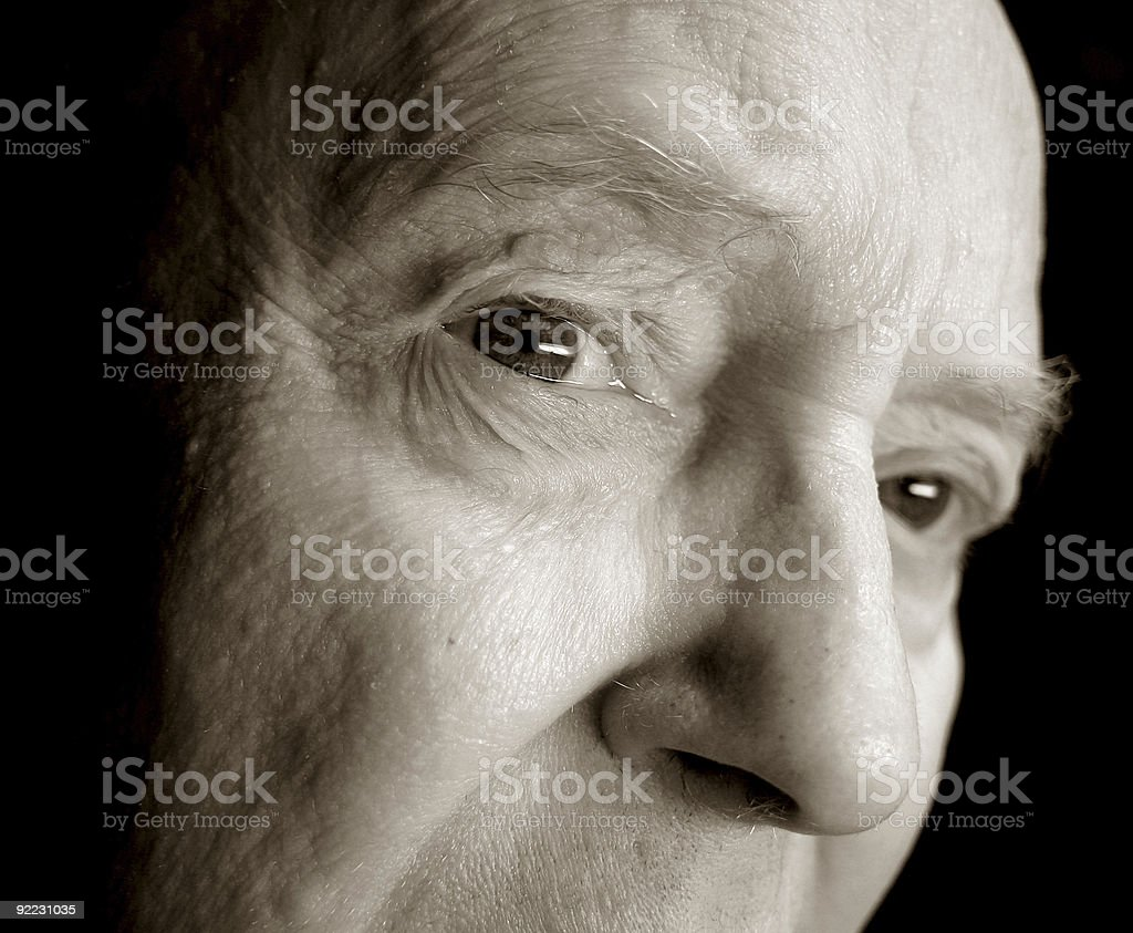 Dark Father stock photo