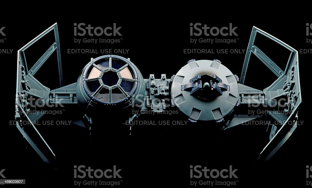Dark Fighter royalty-free stock photo