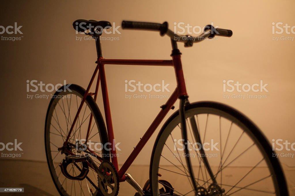 dark fixed gear royalty-free stock photo