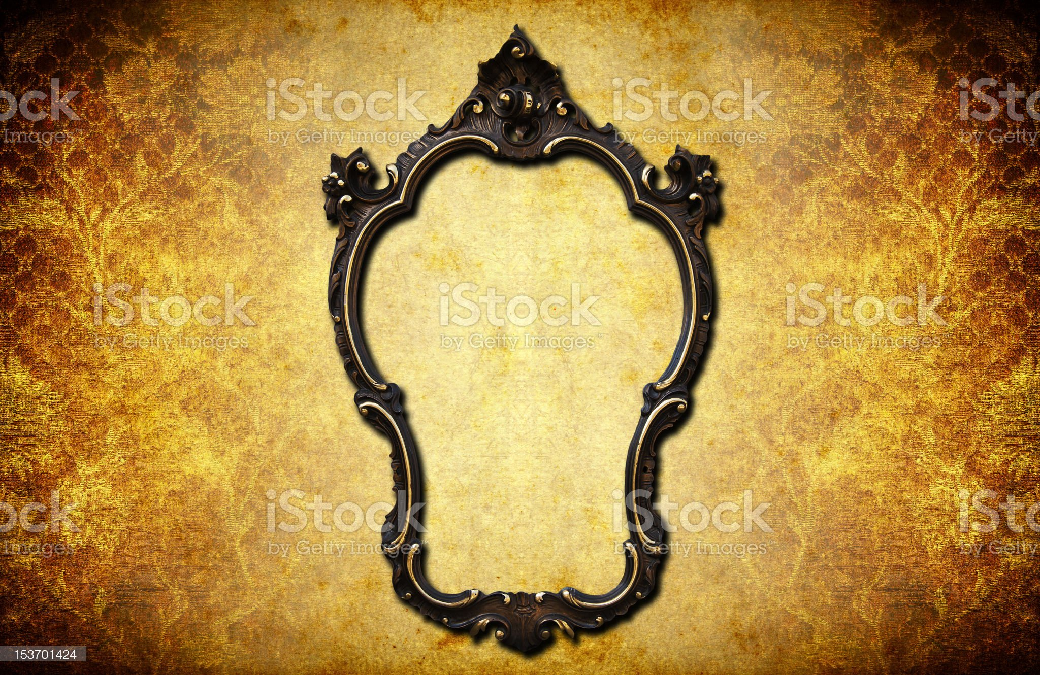 Dark frame royalty-free stock vector art