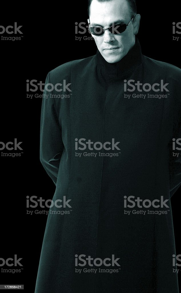 Dark Future stock photo