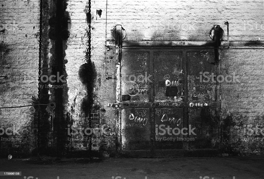 dark gate royalty-free stock photo