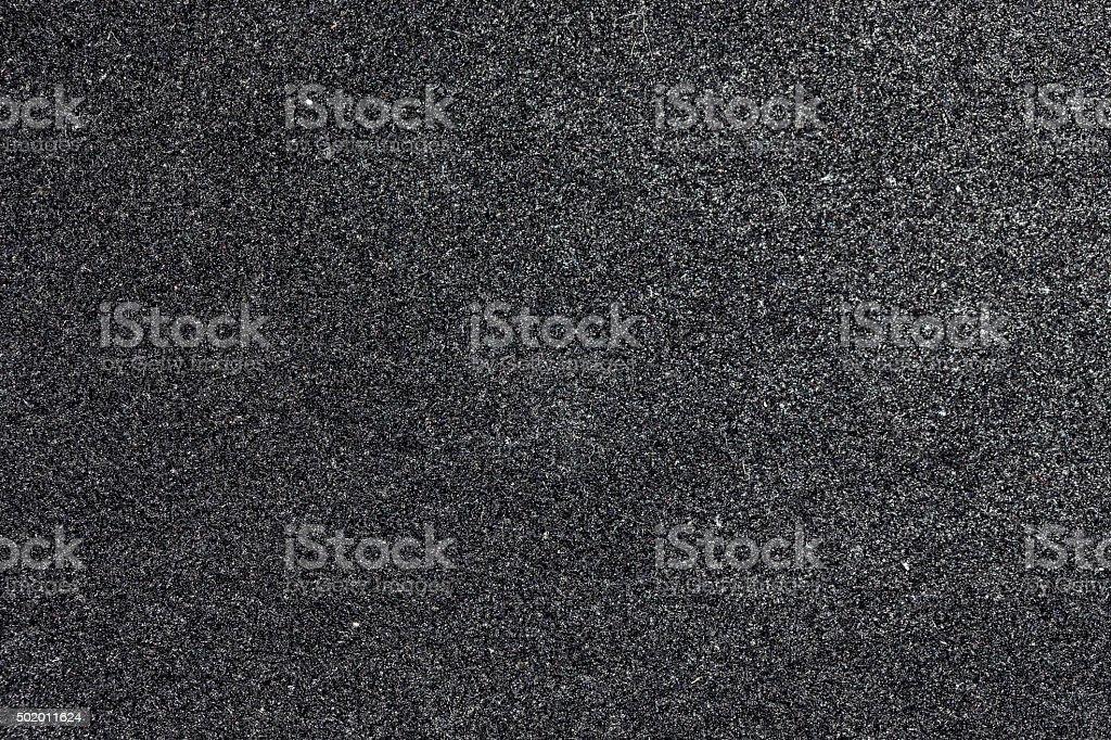 dark gray foam close-up stock photo