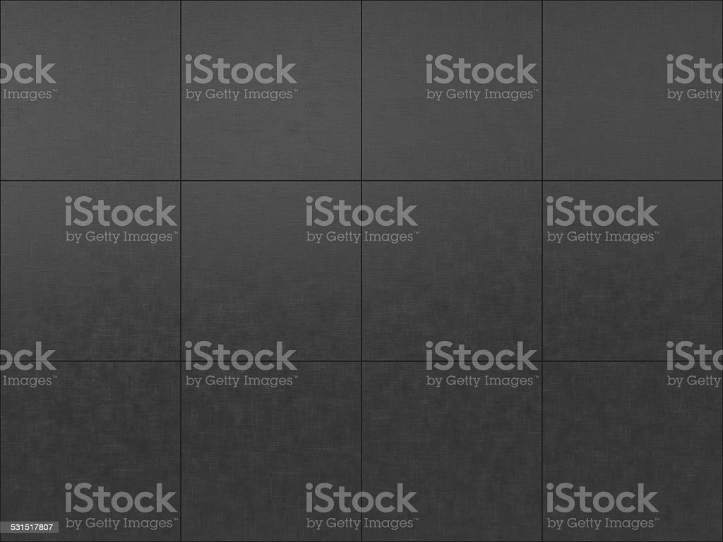 dark gray tiled floor background stock photo