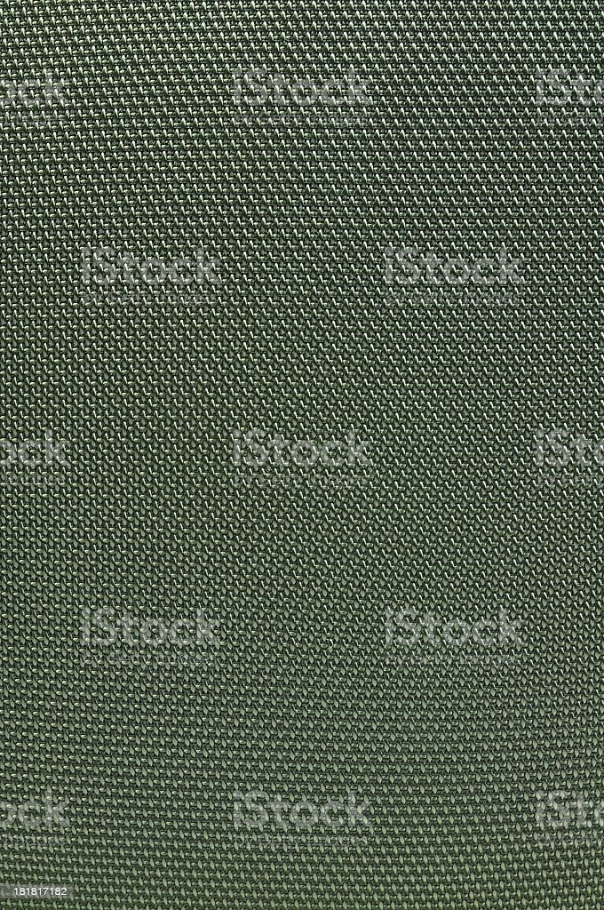 Dark green weaving fabric royalty-free stock photo