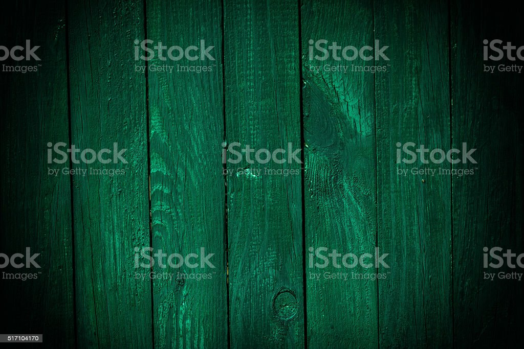 Dark green wooden background stock photo