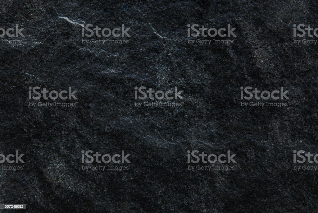 Dark grey black slate background or texture, Detailed of real genuine stone from nature. stock photo