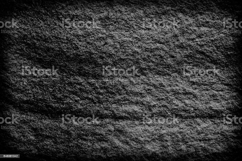 Dark grey black slate background or texture. stock photo