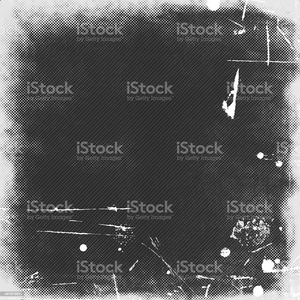 dark grey grunge background, illustration stock photo