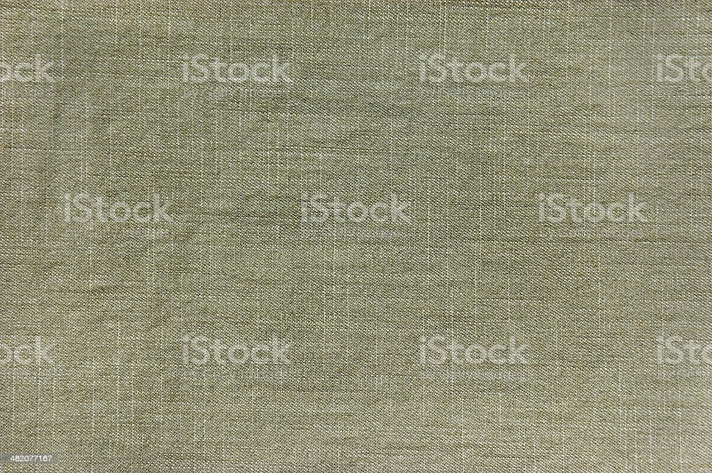 Dark Grey Khaki Cotton Linen Fabric Texture Pattern Background, Horizontal stock photo