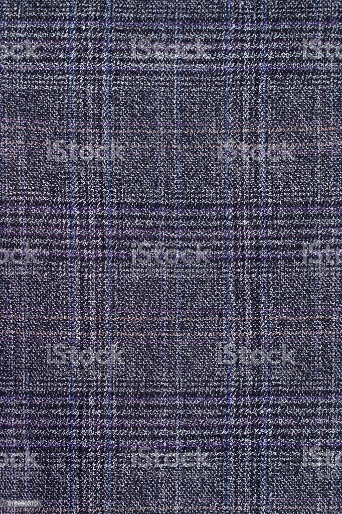 dark grey tartan fabric pattern background stock photo