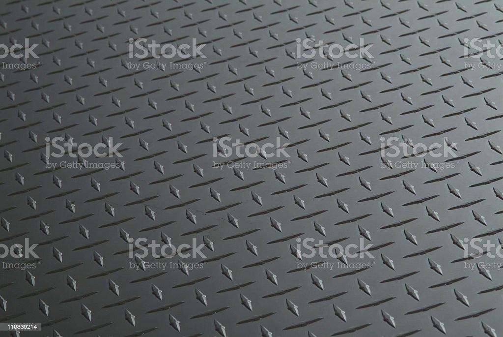 Dark grey treadplate royalty-free stock photo