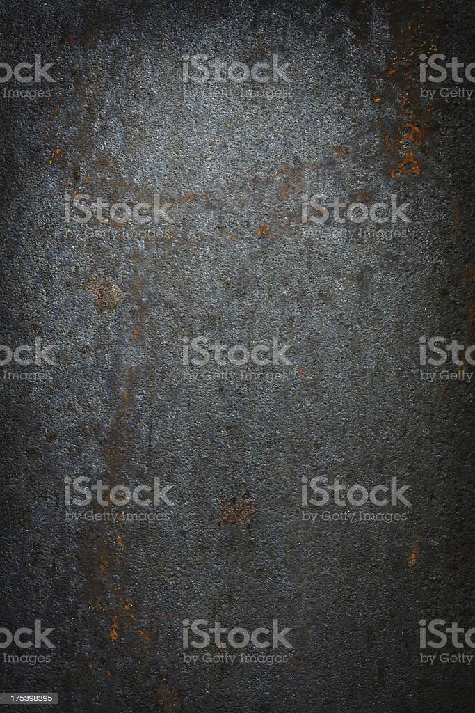 Dark grunge metal stock photo