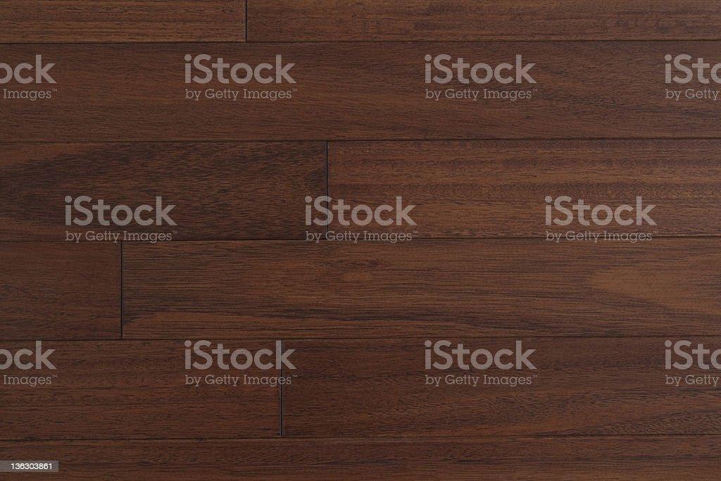dark hardwood floor stock photo