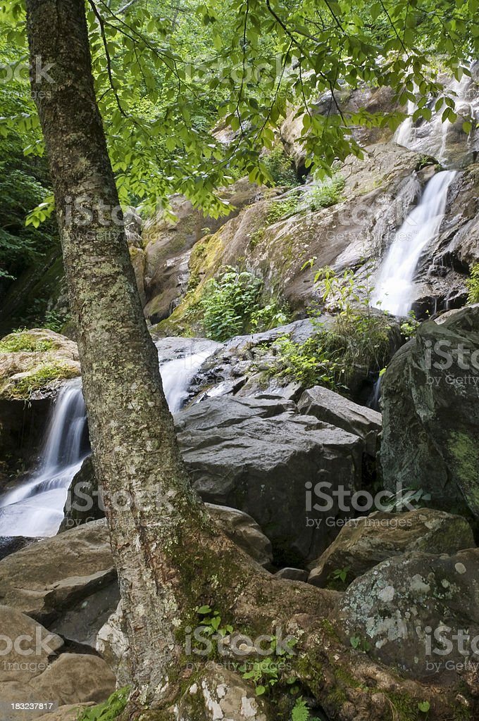 Dark Hollow Falls royalty-free stock photo