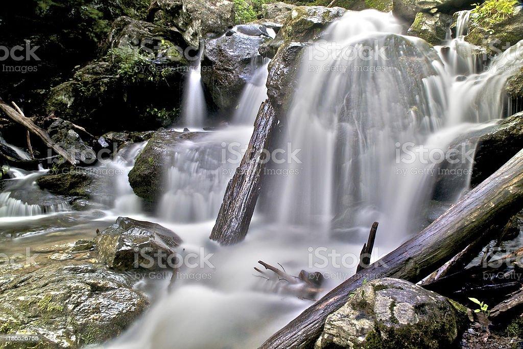 Dark Hollow Falls royalty-free stock photo