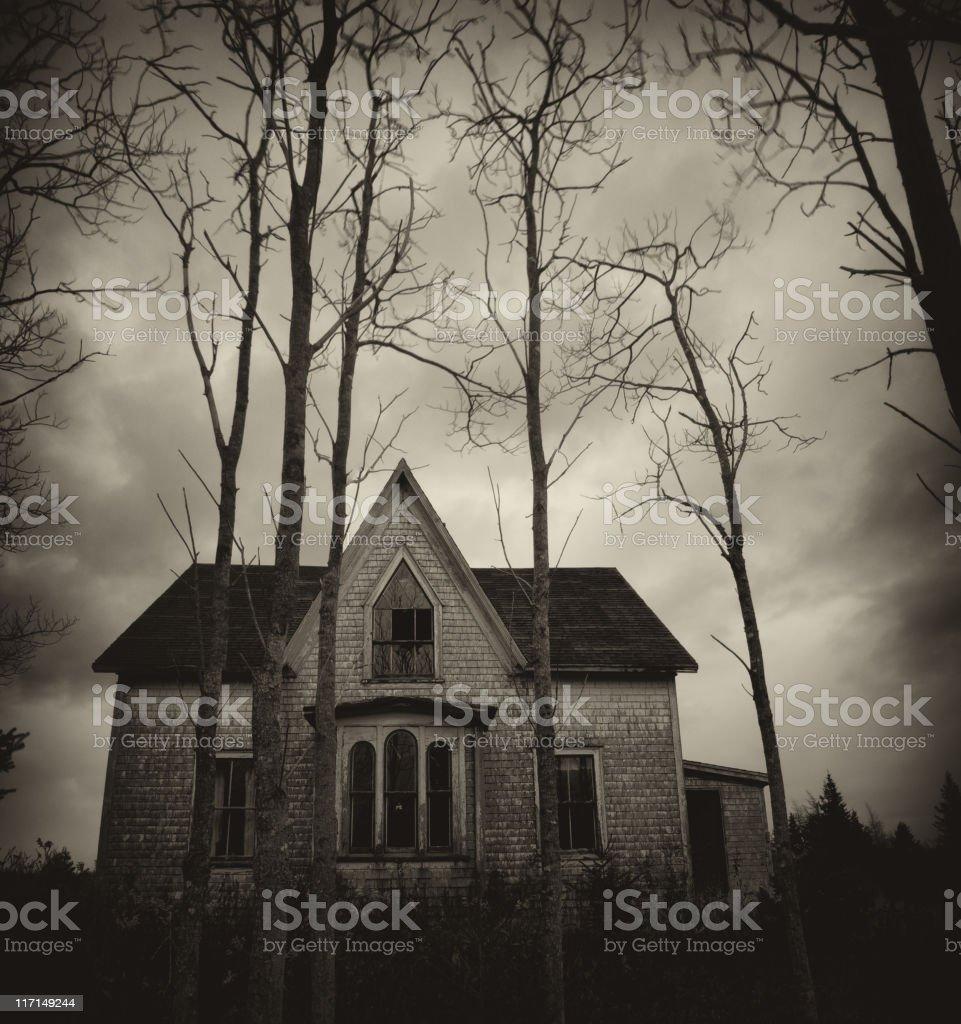 Dark Home royalty-free stock photo