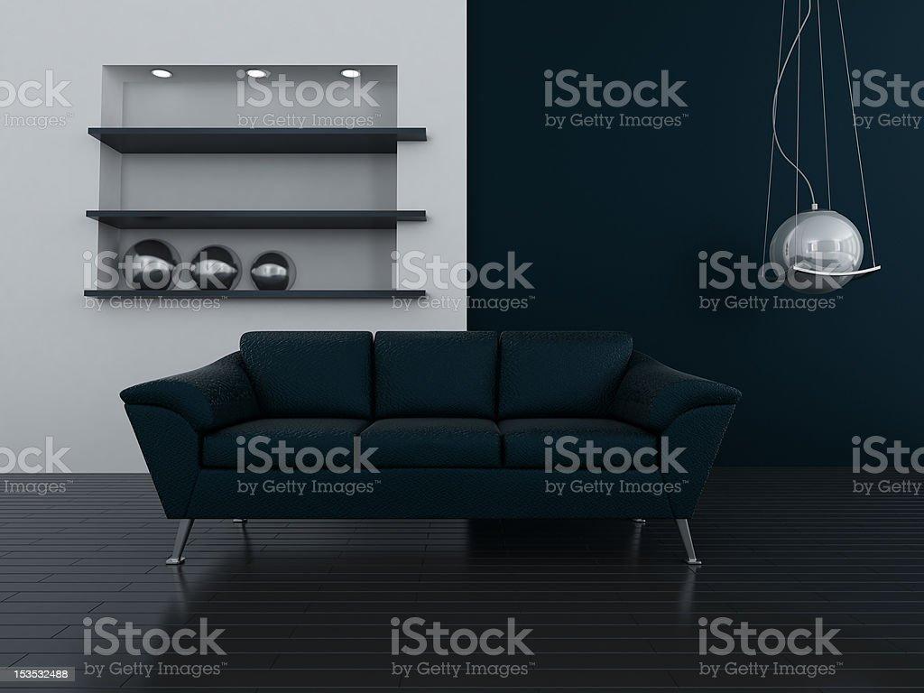 dark interior royalty-free stock photo