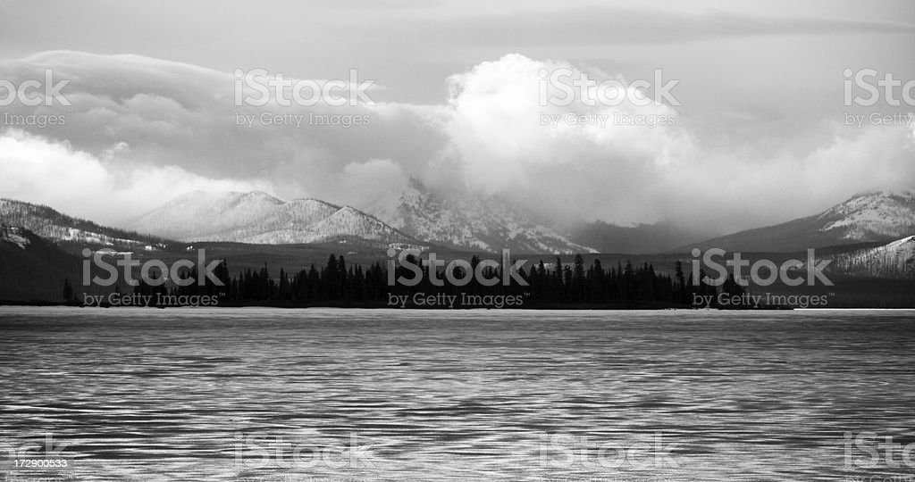 Dark Island royalty-free stock photo