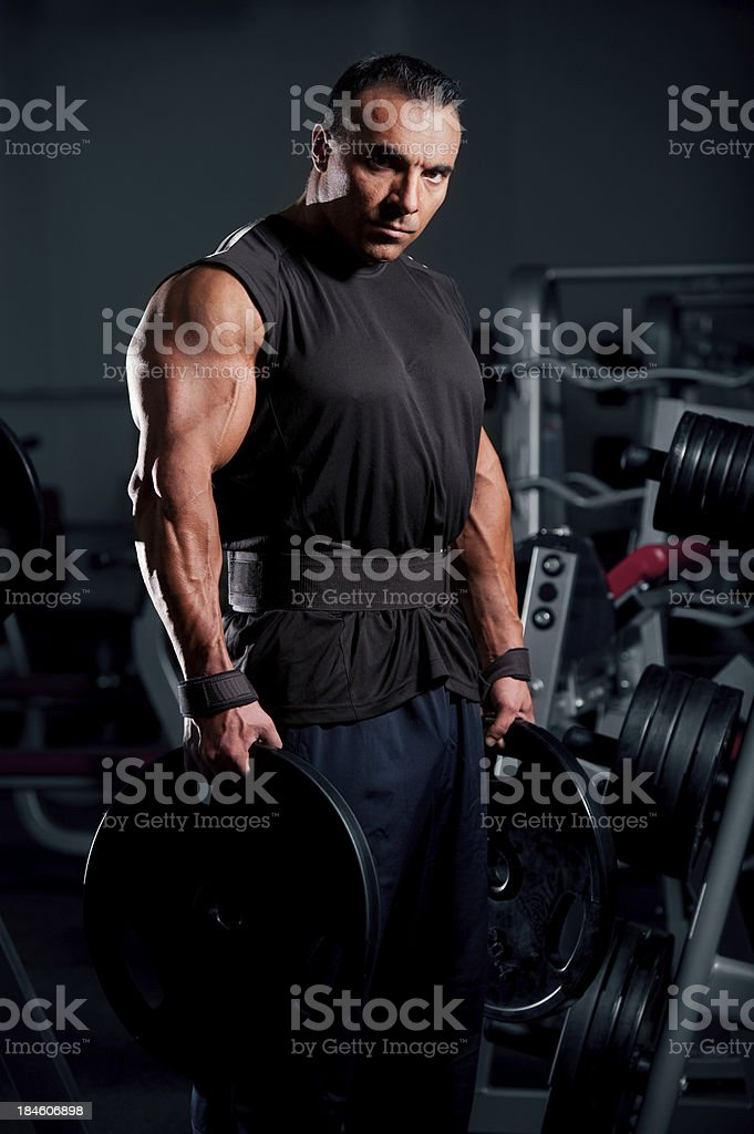 Dark Knight stock photo