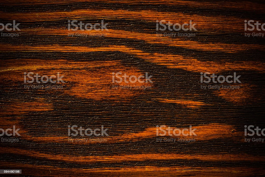 dark lacquered wood texture use for background stock photo