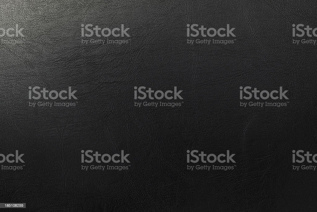 Dark leather texture stock photo
