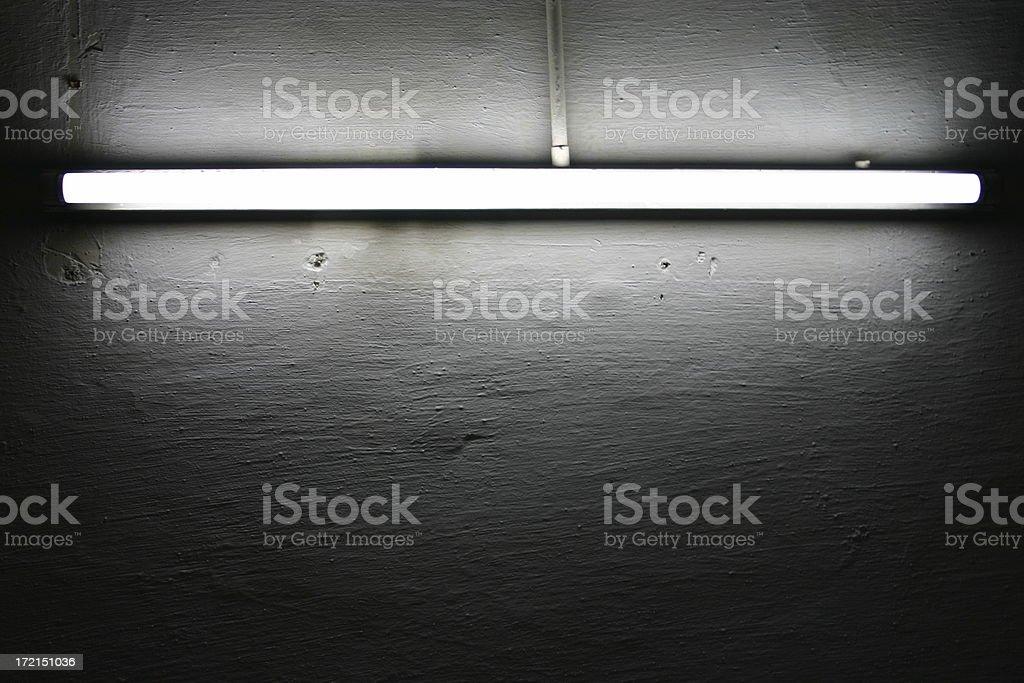 dark light tube stock photo