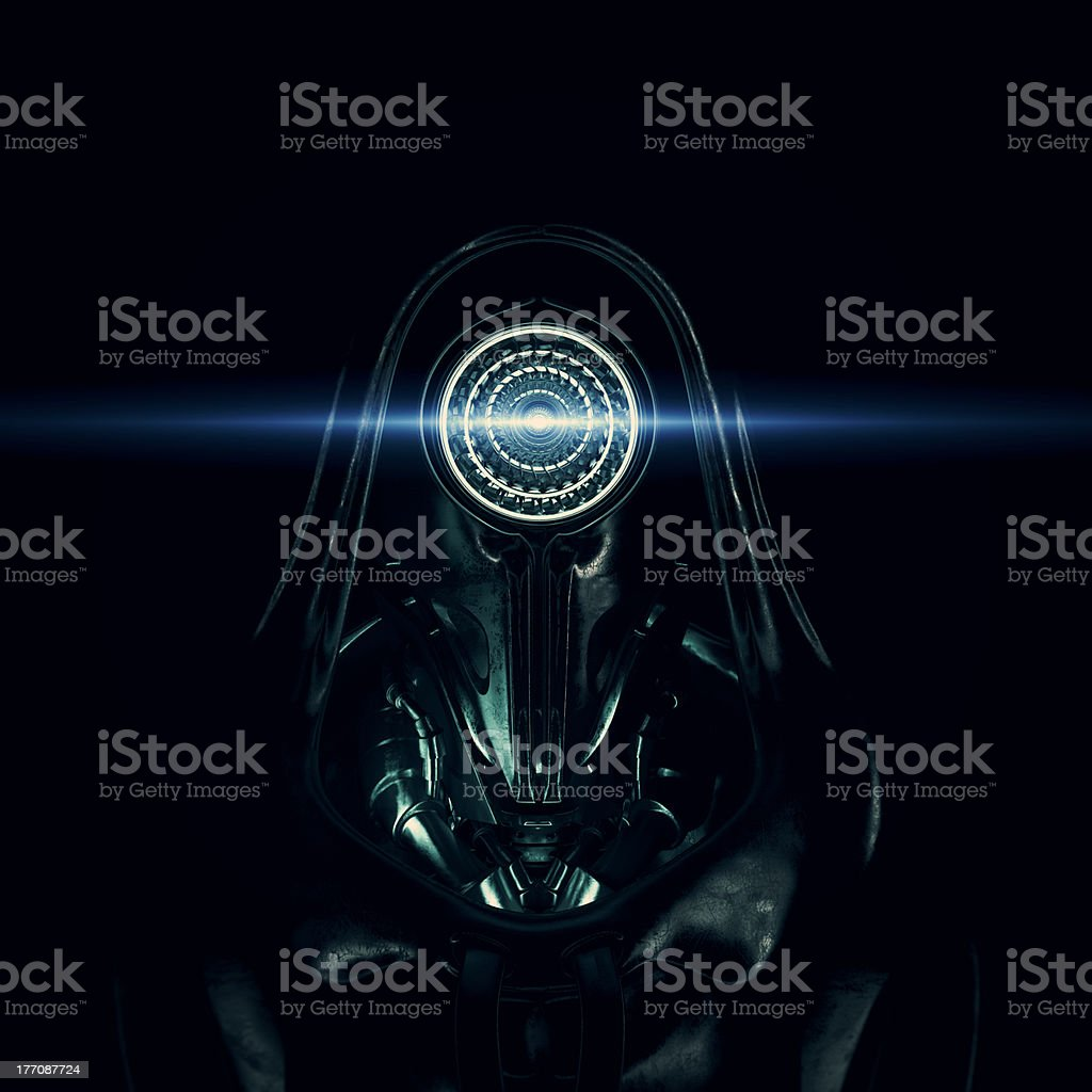 Dark lord royalty-free stock photo