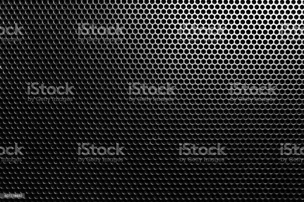 Dark metal mesh stock photo
