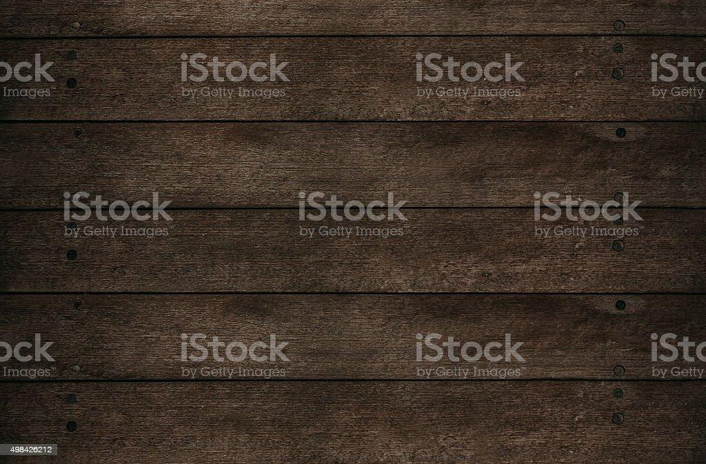 Dark plank wood textured backgrounds stock photo