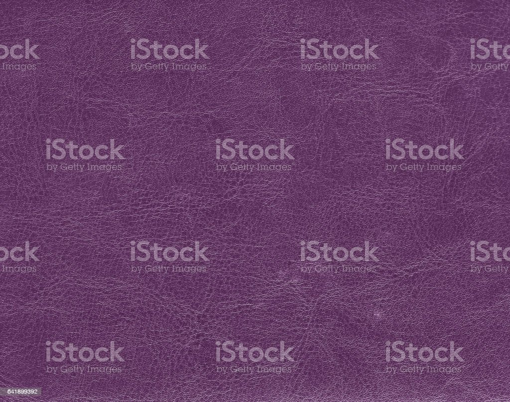 Dark purple leather texture stock photo