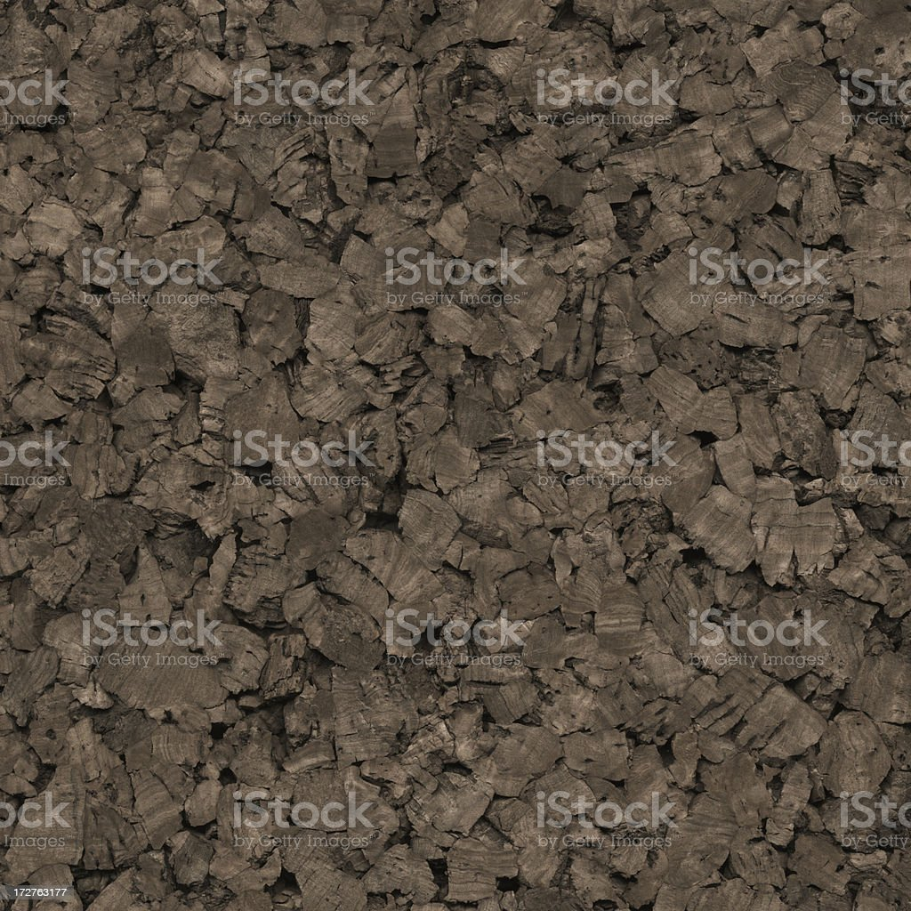 dark random cork texture royalty-free stock photo