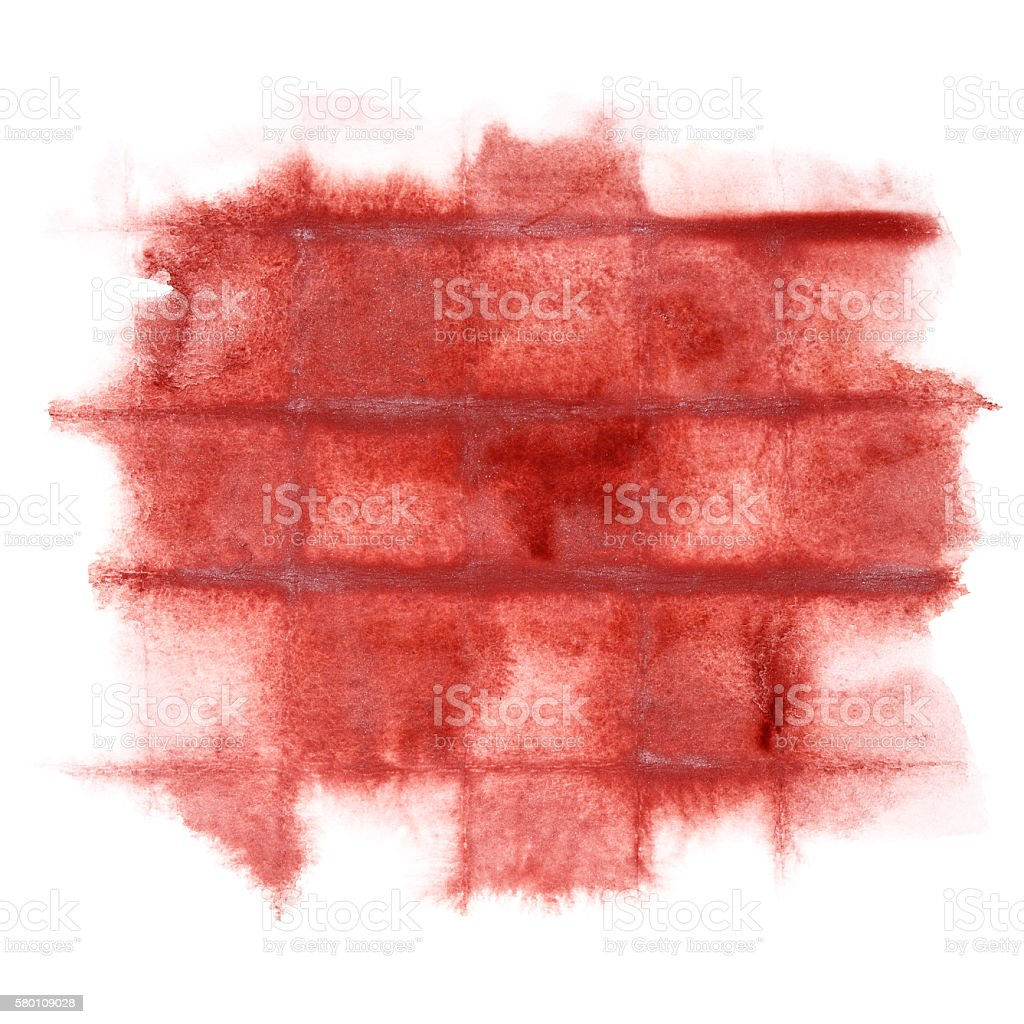 Dark red watercolor background stock photo