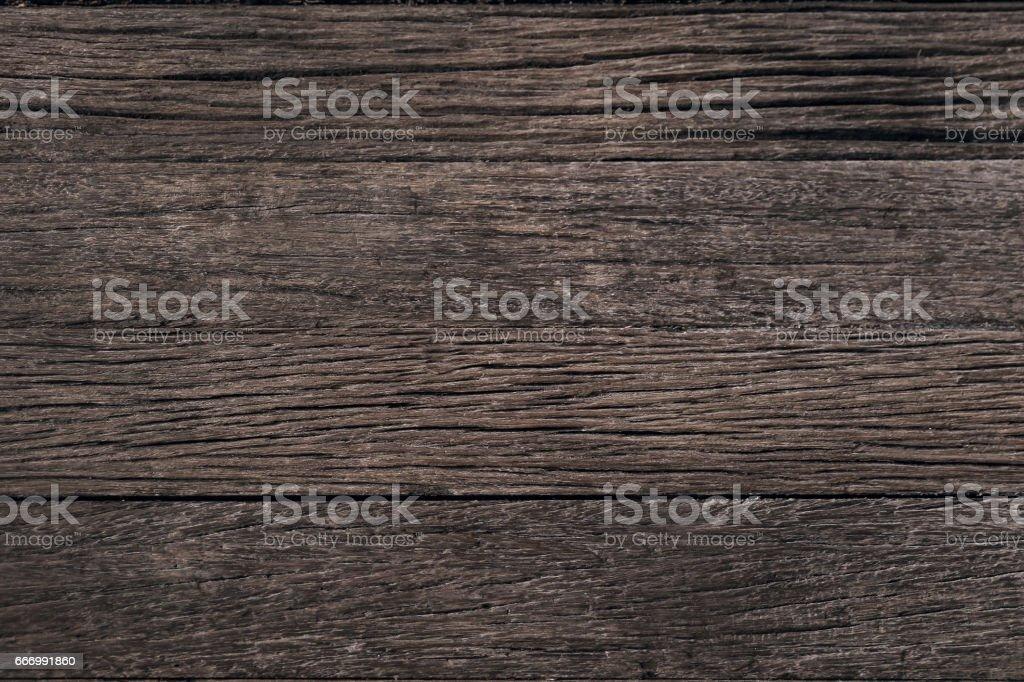 Dark rustic wood panel stock photo