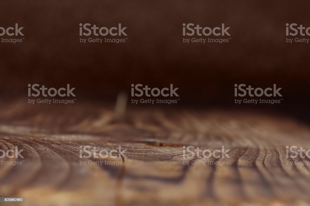 Dark rustic wooden board for a background stock photo
