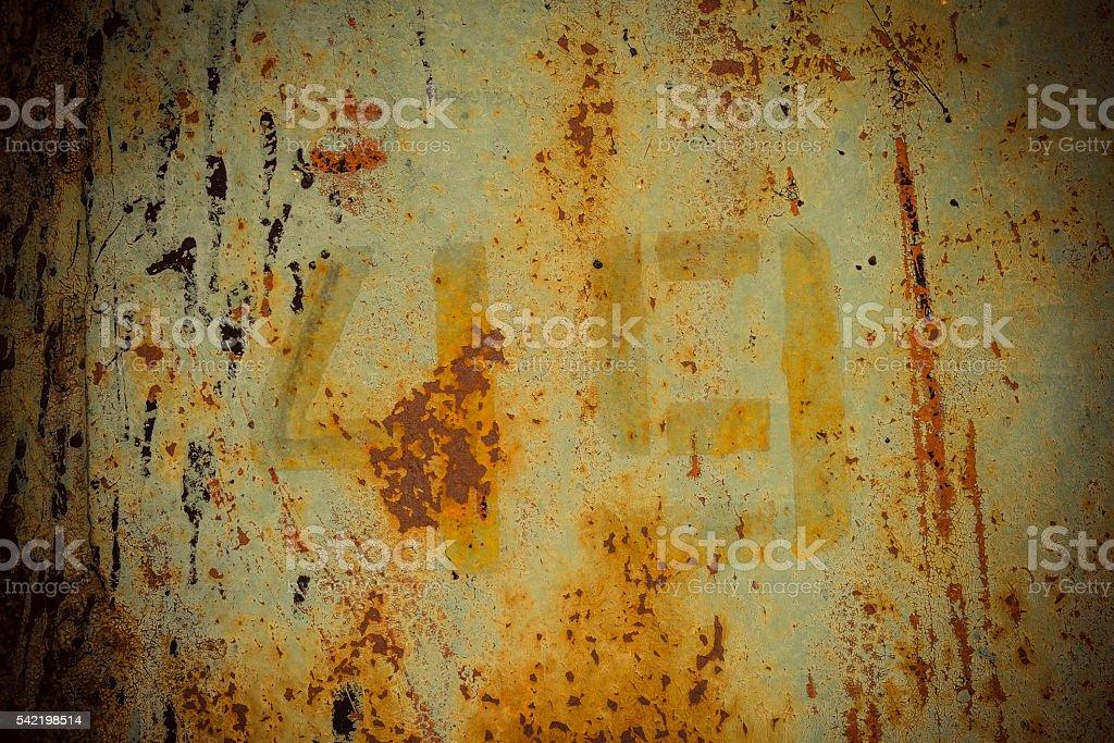 dark rusty metal wall stock photo