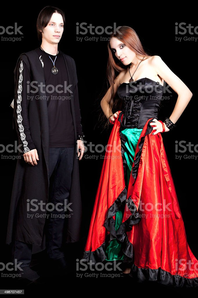 Dark side of the Vampires love royalty-free stock photo