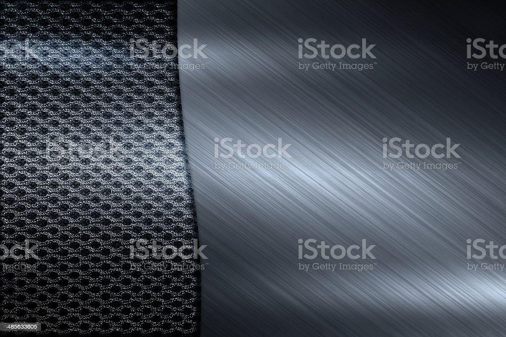 dark silver mesh steel texture background stock photo