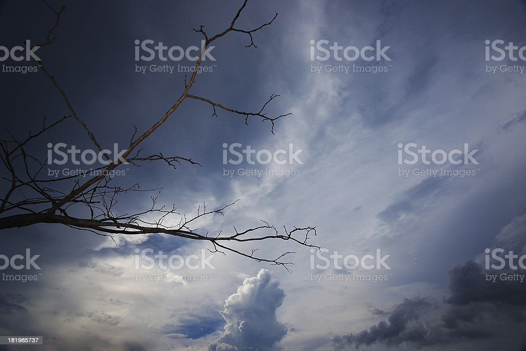 Dark Sky royalty-free stock photo