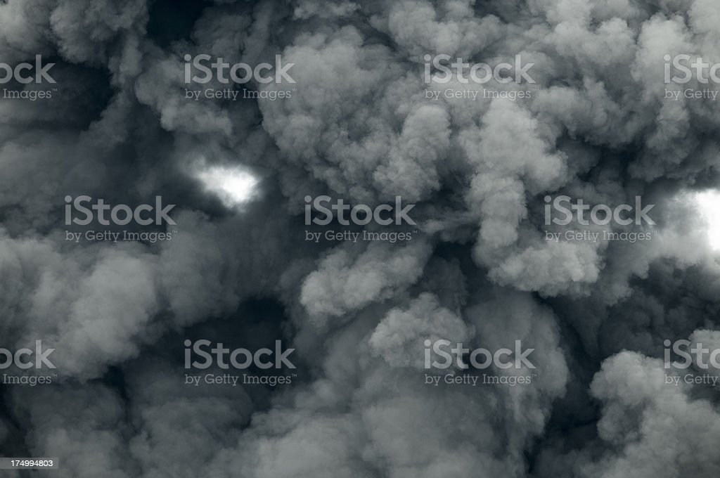 Dark Smoke stock photo